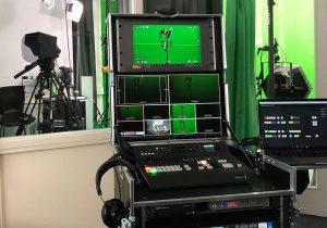 Studio Grün Bild aus der Regie Greenscreen Studio in Hamburg