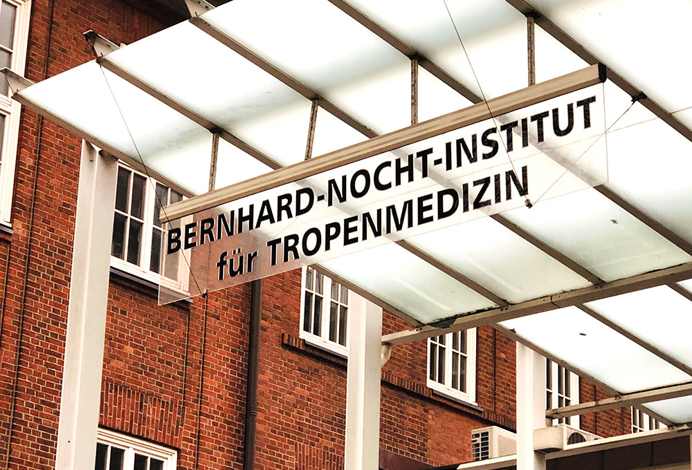Eingang Tropeninstitut
